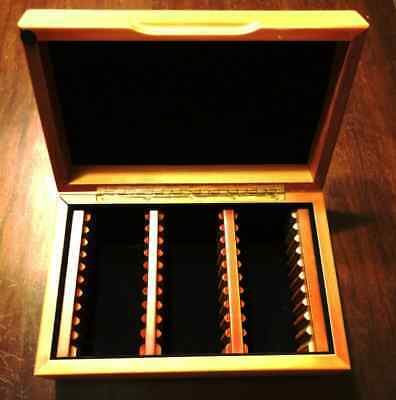 Guardhouse Verticle Row Wood Coin Box That Holds Up To 30 Ngc Slabs Holders