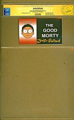 The Good Morty One Staple Mini Comics signed Justin Roiland CGC Rick and Morty