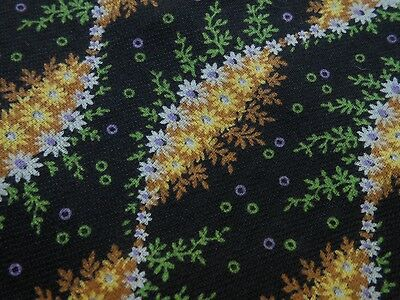 "Vintage Antique authentic 1930's MATERIAL TEXTILE 27"" by just shy of 8 yards"