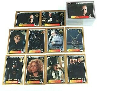 *Australia Release--Batman Returns Movie (Dynamic 1992) Base Card Set (150)-Rare