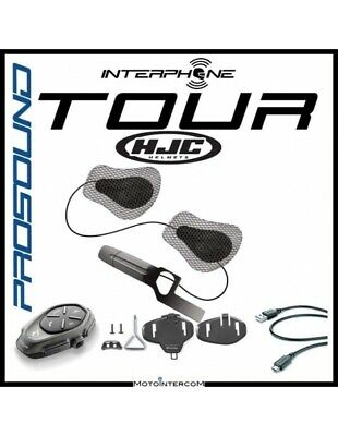 RXAU Single tour Interphone Cellularline Pro Sound HJC