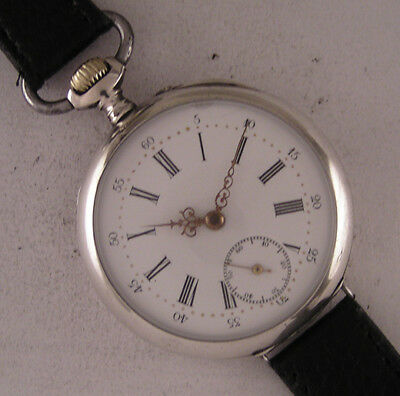 Early Serviced LEHODEY A GRANVILLE 1890 ALL ORIGINAL French Wrist Watch Perfect