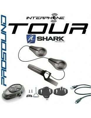 RXUK Single tour Interphone Cellularline Pro Sound SHARK