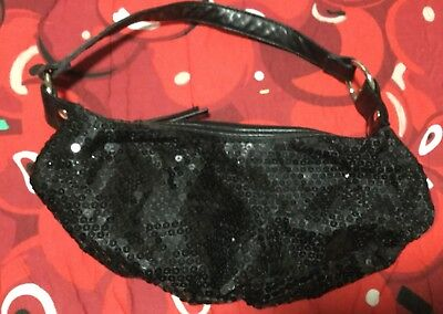 Ladies Shoulder Bag Ideal For Evening ...with Sequins,new