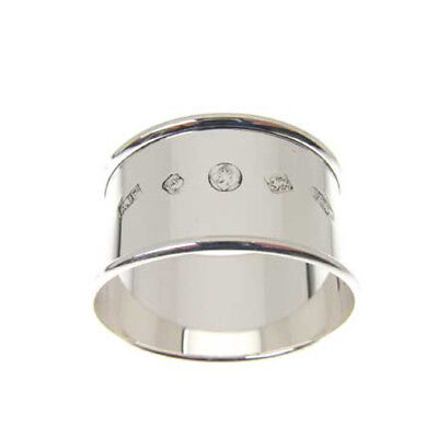 Silver Napkin Ring. Feature Hallmarked English Made Sterling Silver Napkin Ring