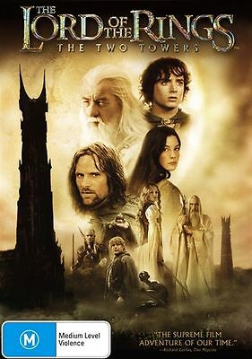 The Lord Of The Rings - The Two Towers (DVD, 2003, 2-Disc Set).