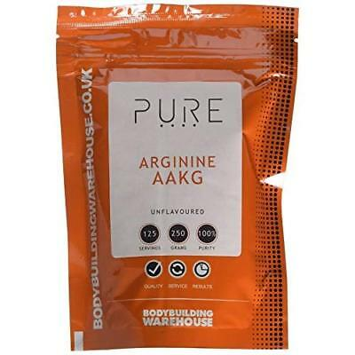 Bodybuilding Warehouse Pure Arginine Alpha Ketoglutarate (AAKG) Unflavoured 250