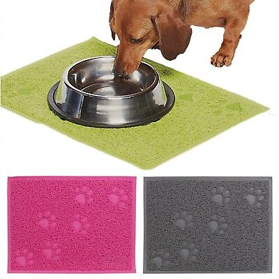 30x40cm Light Silicone Pet Feeding Mat Non Slip Food Place Mat Dog Cat Bowl Food