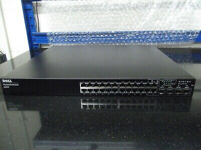Dell PowerConnect 6224 24-port Gig Layer 3 Switch Fitted ND92 YY741 10GB Module