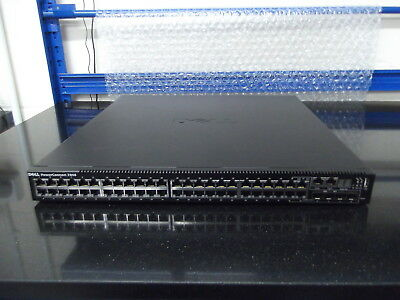 Dell PowerConnect 7048  PCT7048 10GbE CX Stacking Card Installed