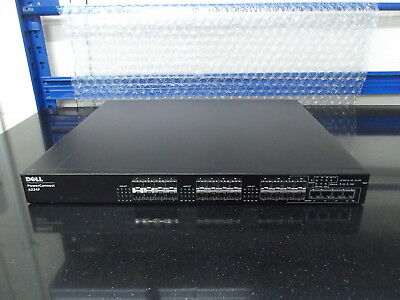 Dell PowerConnect 6224F 24-ports Gigabit SFP   + 4 x Uplink  W/ Stacking Module