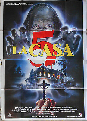 BEYOND DARKNESS 55x78 Italy 1990 HORROR