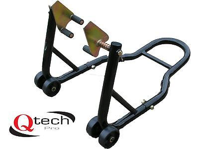 Motorcycle Motorbike Front Wheel Fork Paddock STAND Universal Fit Head Lift