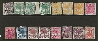Samoa  Selection Of Perf 11 Mint & Used Issues 1895/9   Good/fine