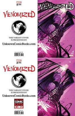 Venomized #1 (Of 5) Exclusive Stephanie Hans Virgin Set C2E2 Nm
