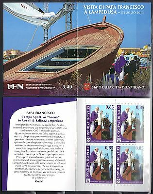 Vatican 2014 Pope Francis Visit to Lampedusa July 8, 2013 Booklet