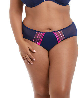 Elomi Matilda Brief In Navy M-4XL  EL8905