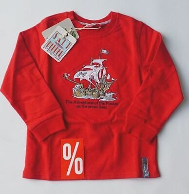 Salt and Pepper Sweatshirt Piratenschiff  Jungen  92/98 104/110 116/122  Neu