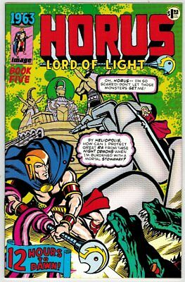 Hero Premier Edition 6 Horus 1963 Harris Mini Comic