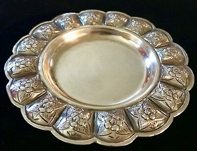 Vintage Sanborns Sterling Silver Tray~Plus ~Matching Salt & Pepper Shakers.