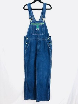 Vintage Liberty Overalls Youth Size Boys Girls 16 Denim Bib Farmer Carpenter