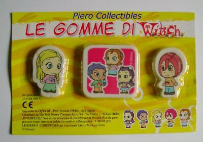W.I.T.C.H. the Tyres Witch - Set Erasers