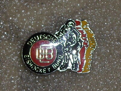 Germany IIHF Ice Hockey federation official association pin badge