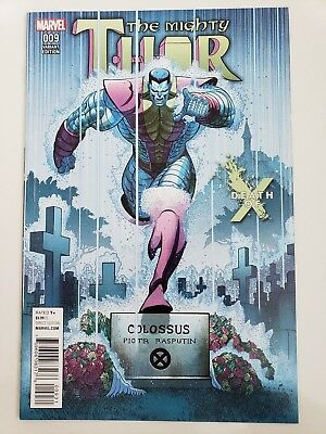 The Mighty Thor #9 (2016) Marvel Comics Death Of X Variant Cover 1St Print Nm