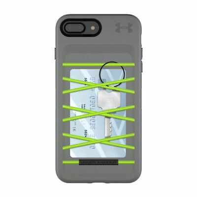 official photos 3017c 833a9 UNDER ARMOUR UA Protect Arsenal Case for iPhone 7 Plus, 8 Plus Gray/Green  NEW