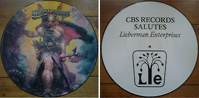 Molly Hatchet / flirtin with disaster / Lieberman promo picture disc LP