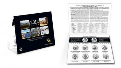2012 US Mint America The Beautiful Quarters Uncirculated 10 Coin Set