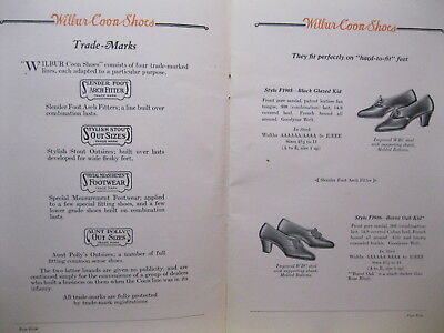 1915 Wilbur Coon Shoes dress casual work catalog