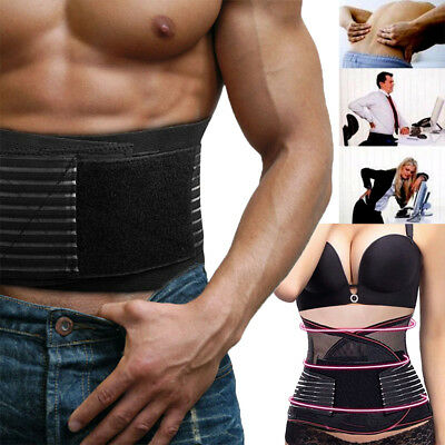 Hot Magnetic Lower Back Lumbar Support Brace Waist Belt Posture Pain Relief UK
