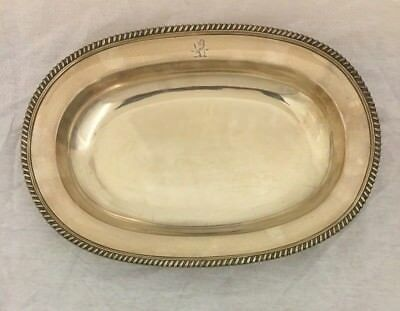 George III English Sterling Silver Dish