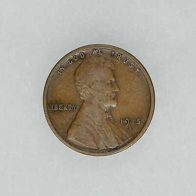 1915 S Lincoln Wheat Cent Penny 1C  Vf Very Fine (5158)