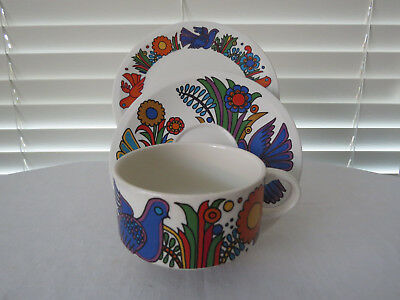 Villeroy & Boch - Acapulco  - Trio - Cup, Saucer and Bread and Butter Plate No2