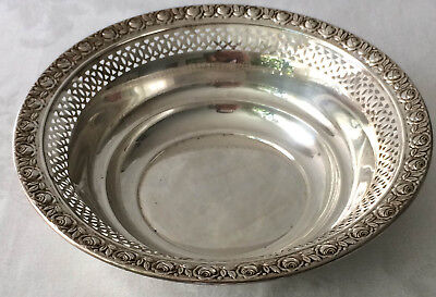 T S C Sterling Silver Bowl Dish