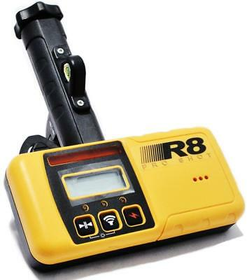 R8 PRO SHOT 5 CH. DUAL LCD ELECTRONIC LASER LEVEL RECEIVER ACCESSORY w/ CLAMP