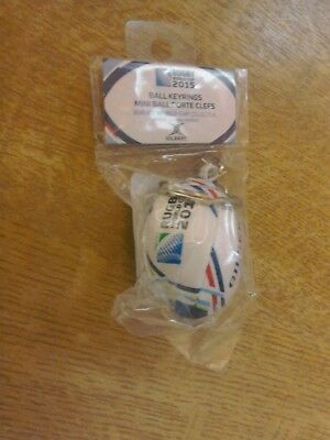Gilbert Rugby official world cup 2015 mini-soft fill rugby ball  keyring