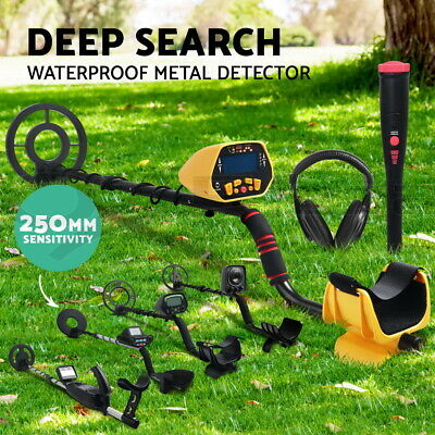Metal Detector Pinpointer Deep Sensitive Searching Gold Digger Hunter