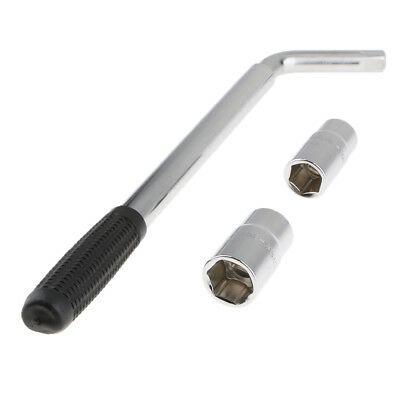 Telescopic Car Socket Wheel Brace Wrench Tyre Screw Removal Tool Two In One