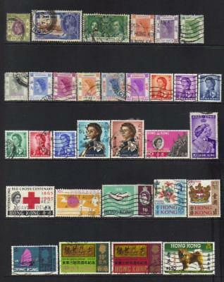 Hong Kong 1912-1970 Used Selection Cat £48+