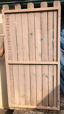 Garden Gates Galvanised Steel Frame with Palings x 4 Richmond Pick Up N.S.W.