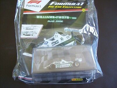 Formula 1 The Car Collection Part 58 Williams FW07B 1980 Alan Jones