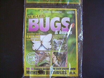 National Geographic Real-life Bugs & Insects magazine Issue 95