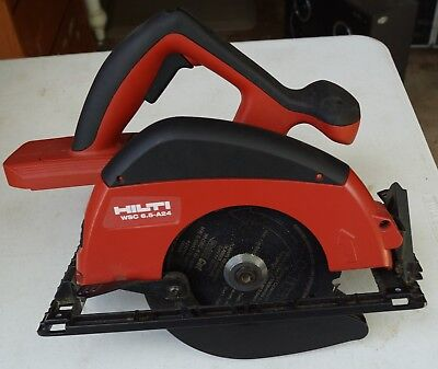WSC 6.5-A 24 Cordless saw with blade bare tool Excellent condition no battery