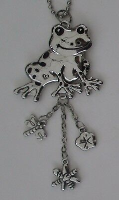 j FROG dragonfly CAR MIRROR CHARM ornament JEWELRY GANZ REAR VIEW ganz