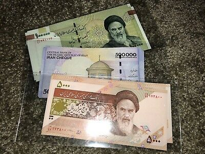 3.5 Million Iranian Rial Currency