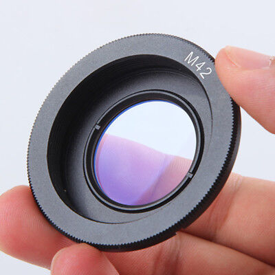 For M42 Lens To Nikon AI Mount Adapter Camera Adapter Ring High Quality Black