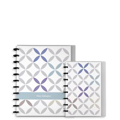 Levenger Circa Annotation Ruled Notebook-Kaleidoscope-Junior